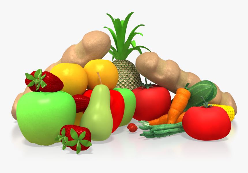 Diet Health Clip Art - Healthy Food Clip Art, HD Png Download, Free Download