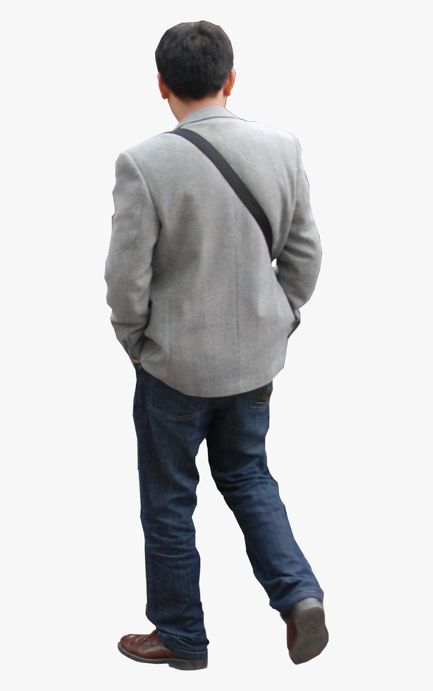 Person Walking Photoshop - Transparent Man Walking Away Png, Png Download, Free Download