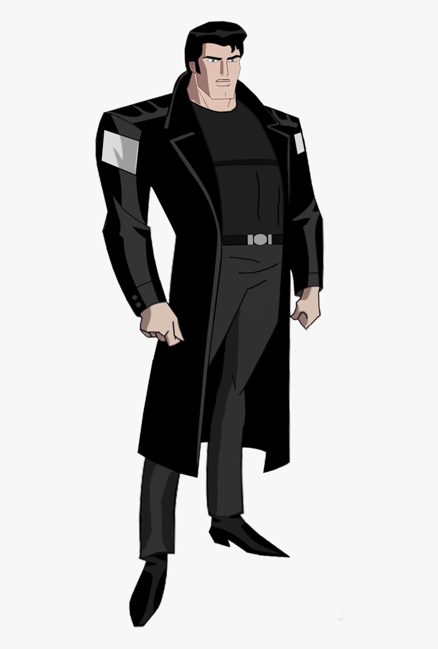 Terry Mcginnis Png Pic - General Zod Superman Animated, Transparent Png, Free Download