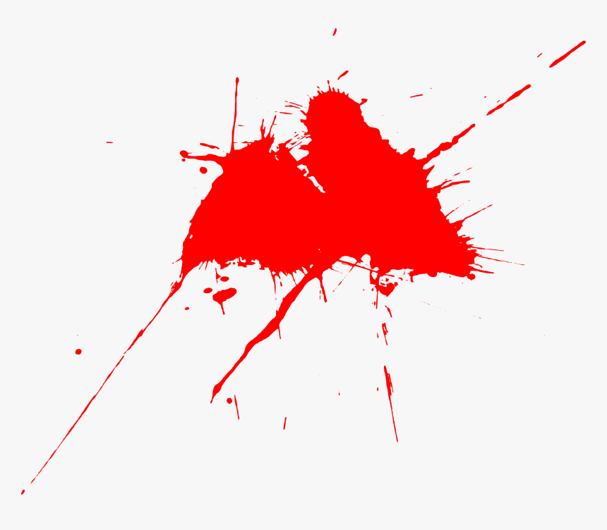 15 Red Paint Splatters - Illustration, HD Png Download, Free Download