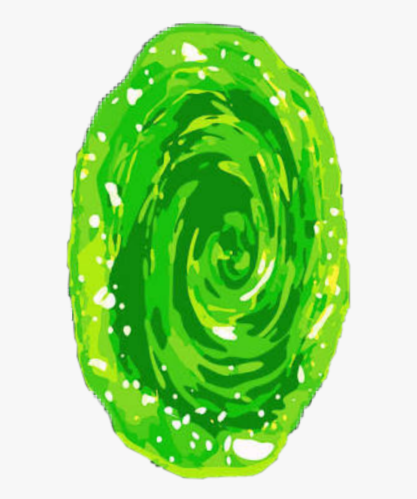 Rick And Morty Png Portal Rick And Morty Green Portal