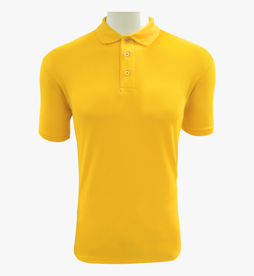 Polo-shirt - Yellow Polo Png, Transparent Png, Free Download