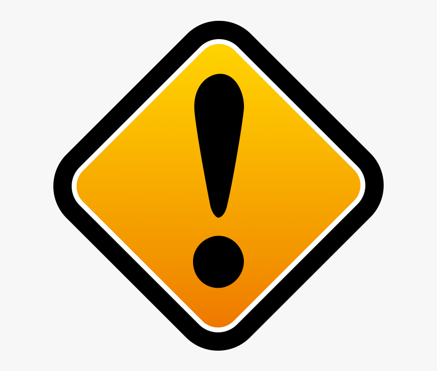 Transparent No Sign - Warning Sign Png, Png Download, Free Download