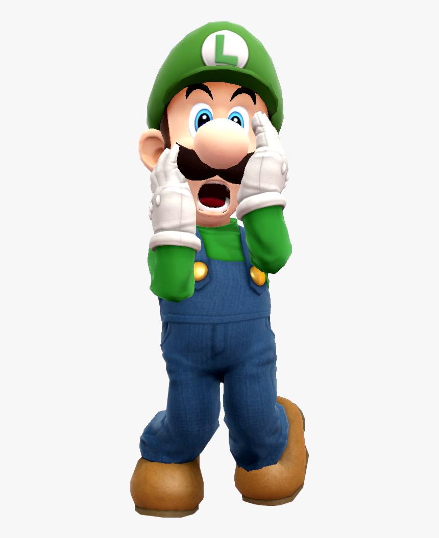 """Luigi Png -luigi""""s Mansion Png - Luigis Mansion Luigi Scared, Transparent Png, Free Download"""