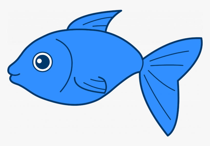 Small Fish Loubet Modelisme - Blue Fish Clipart, HD Png Download, Free Download