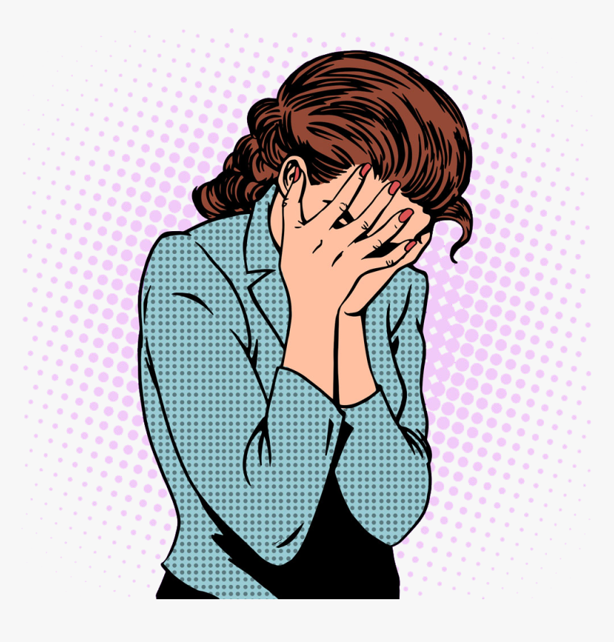 The Weeping Woman Crying Royalty-free Stock Photography - Sad Woman Clipart Png, Transparent Png, Free Download