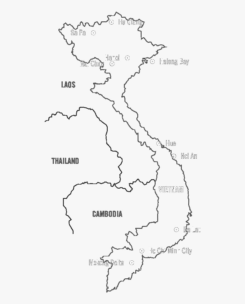 Transparent Vietnam Png Vietnam Map Drawing Png Png Download Kindpng