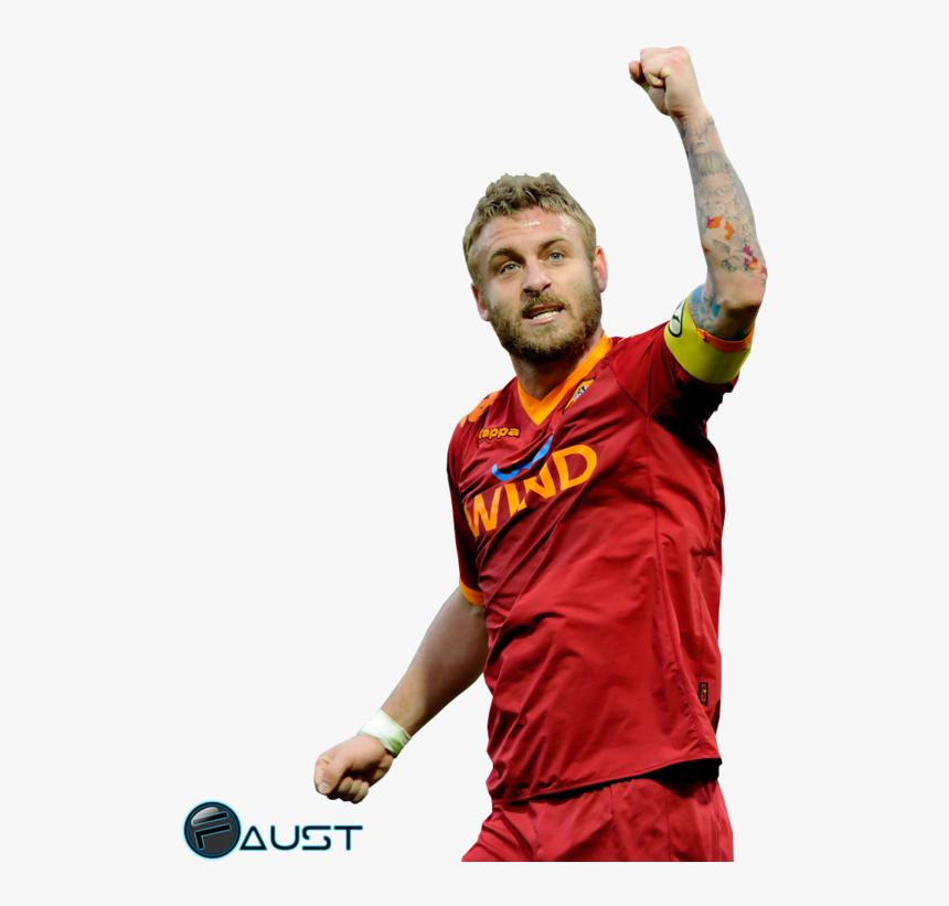 Tattoo Football De Rossi Player A - De Rossi Render, HD Png Download, Free Download