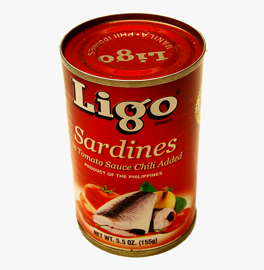 Ligo Sardines In Chili Tomato Sauce - Fish Products, HD Png Download, Free Download