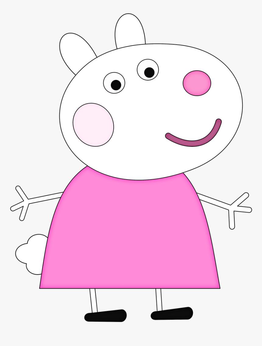 Minus Disney Pig, Pig Character, Peppa Pig Family, - Peppa Pig Characters Susie, HD Png Download, Free Download
