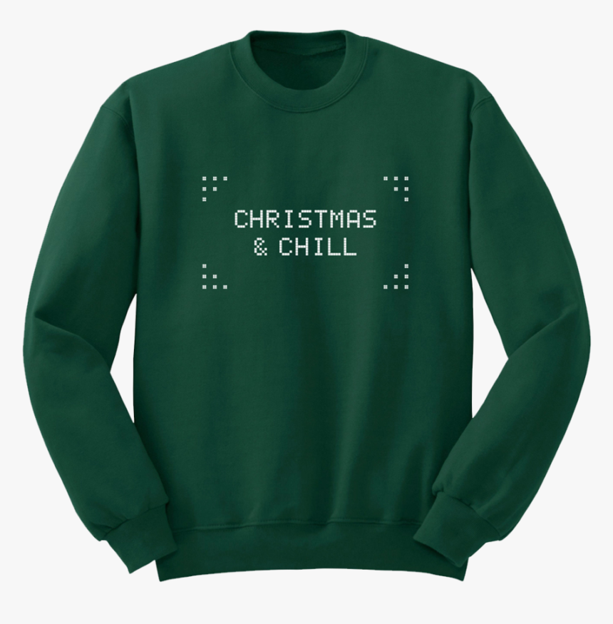 Christmas & Chill Sweatshirt - Ariana Grande Christmas And Chill Merch, HD Png Download, Free Download