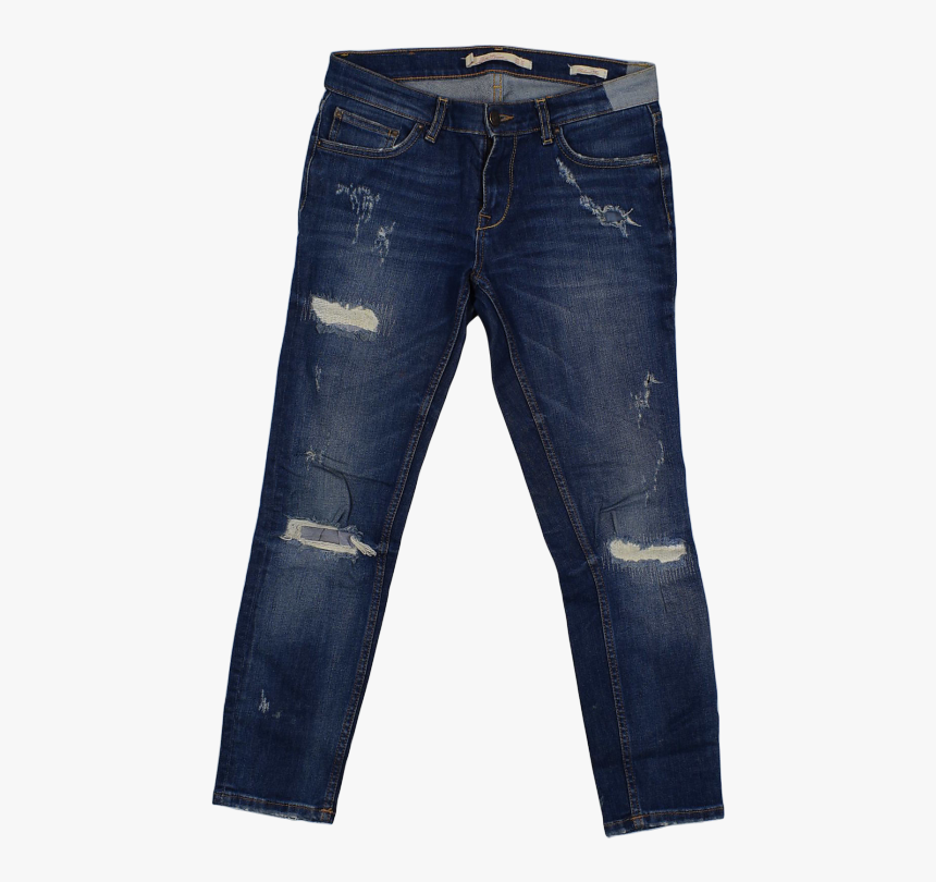 Mens Plain Denim Jeans , Png Download, Transparent Png, Free Download