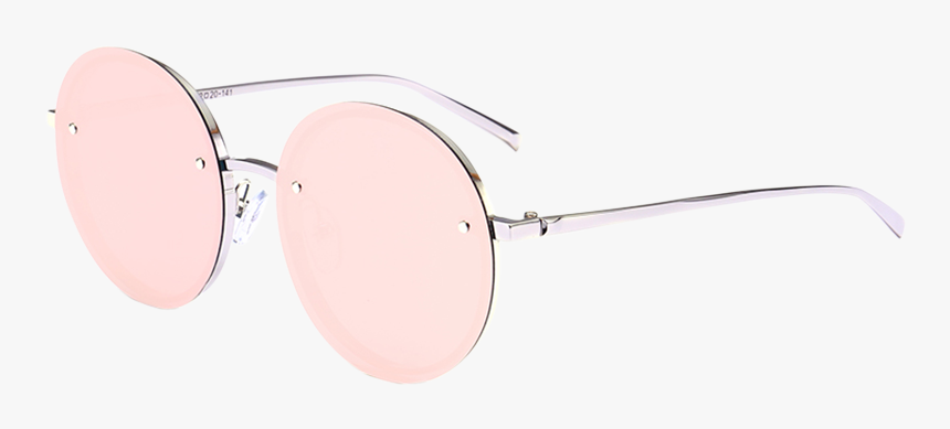 Design Product Goggles Sunglasses Free Download Image - Reflective Pink Sunglasses Round, HD Png Download, Free Download