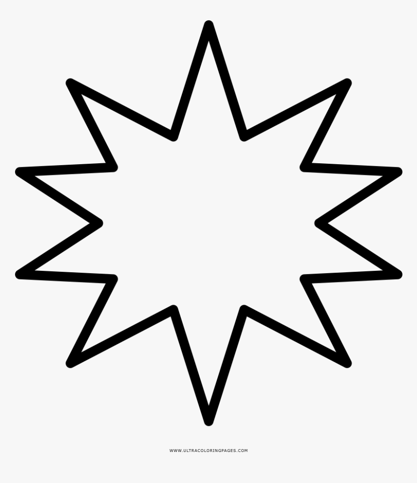 Compass Rose Coloring Page - Easy Flower Mandala Coloring Pages, HD Png Download, Free Download