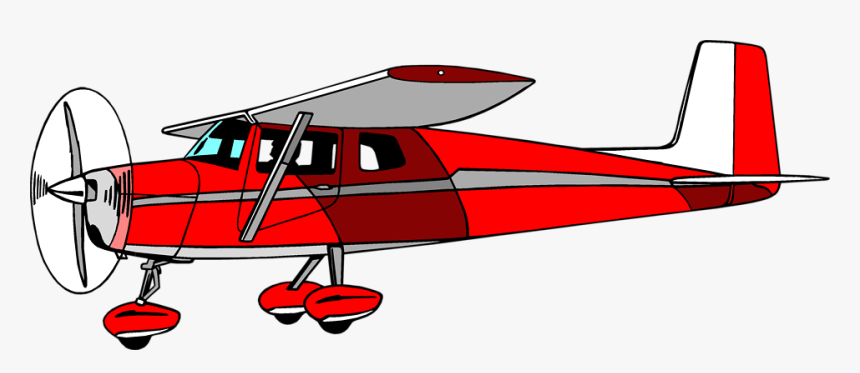 Airplane Clipart Cessna - Cessna Clipart, HD Png Download, Free Download