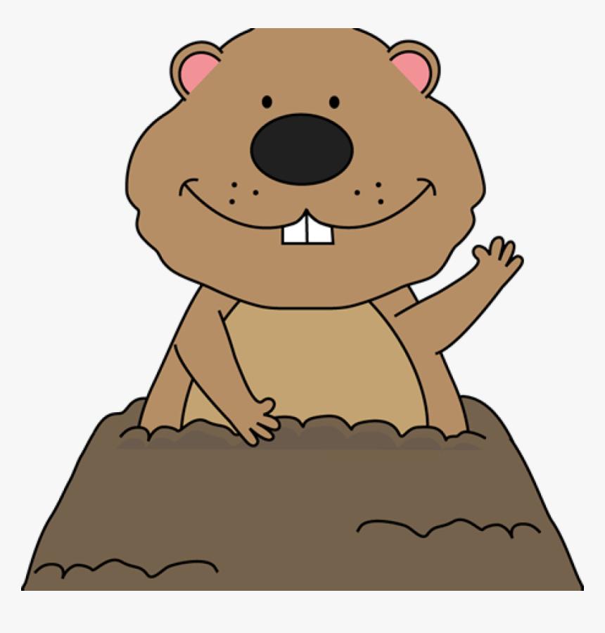 Transparent Cartoon Groundhog Clipart Groundhog Day Clipart Png Png Download Kindpng