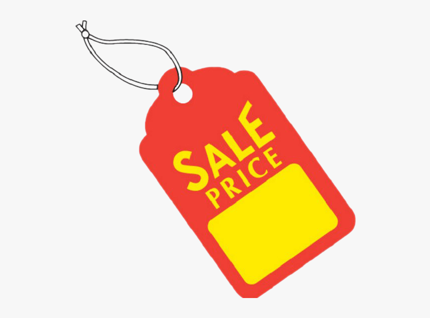 Blank Price Tag Png Pic - Sale Tag, Transparent Png, Free Download