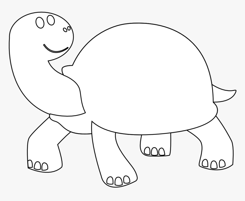 Free Download Sea Turtle Clipart Black And White Hd - Black And White Animals Or Fruits, HD Png Download, Free Download