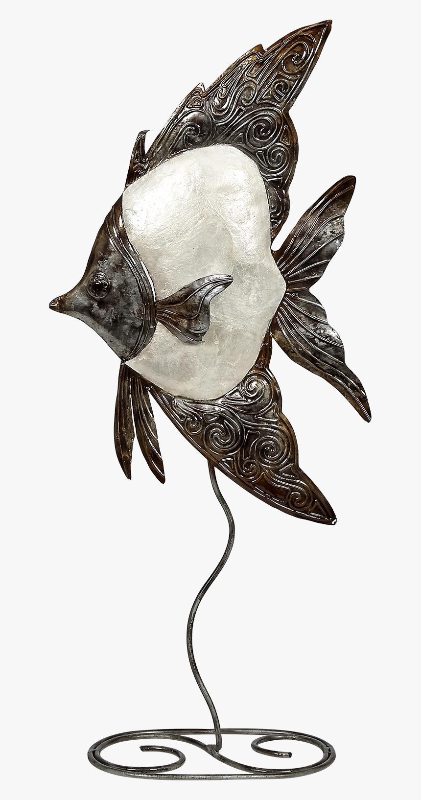 White Elegance Angelfish Stand - Illustration, HD Png Download, Free Download