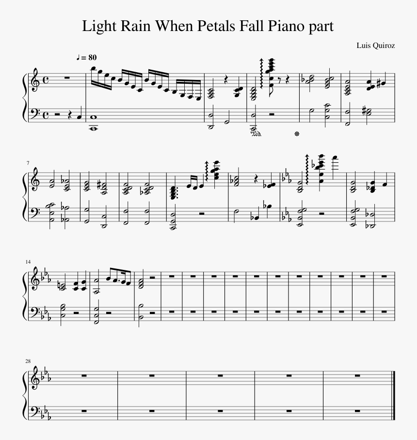 Urbosa's Theme Piano Sheet Music, HD Png Download, Free Download