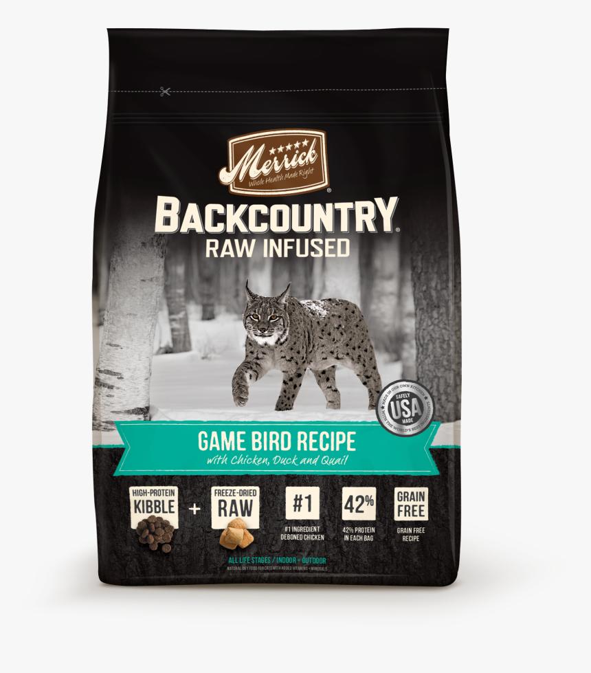 Transparent Gray Cat Png - Merrick Backcountry Cat Food, Png Download, Free Download