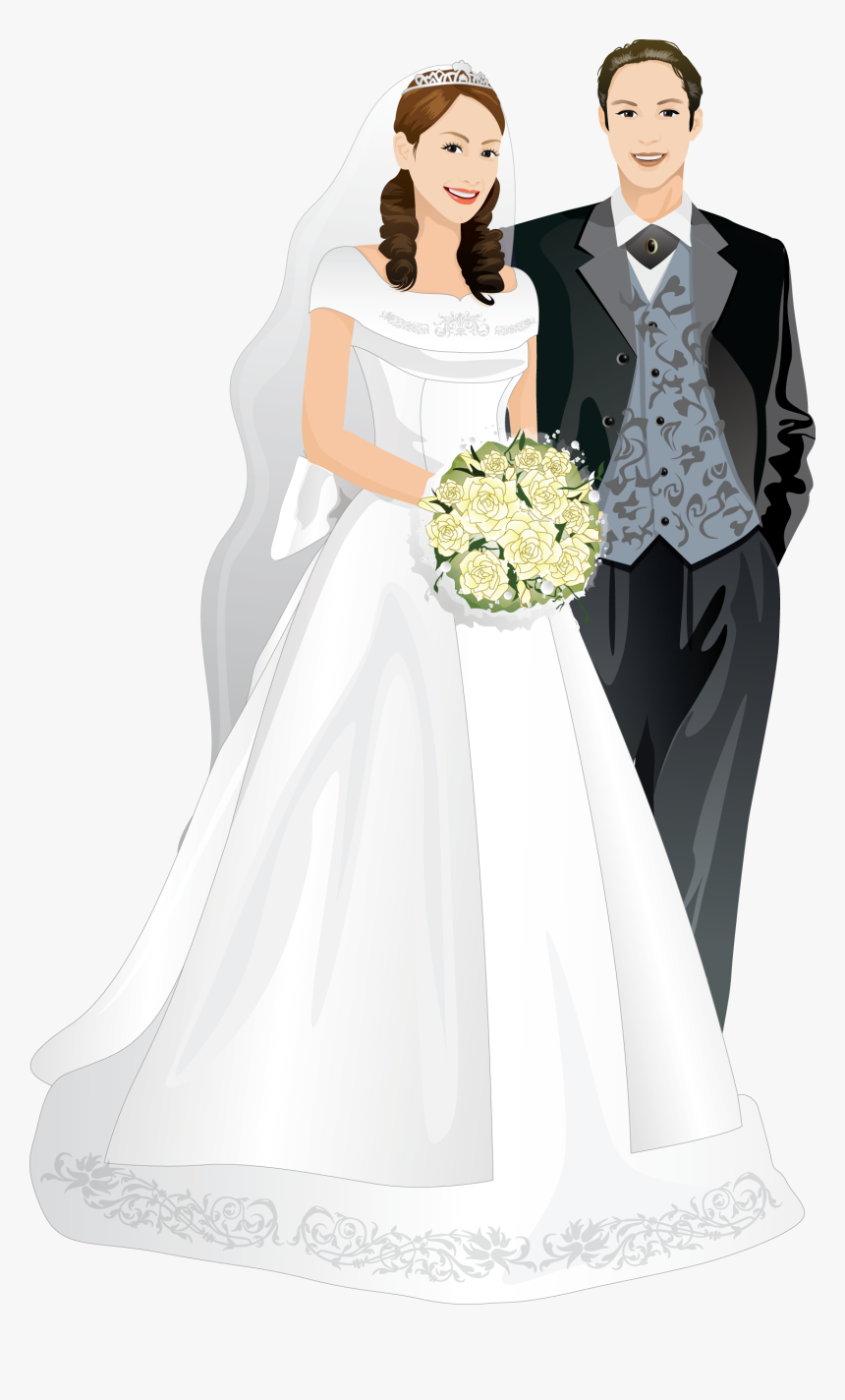 Married Couple Png Png Download Wedding Couple Frame Png Transparent Png Kindpng