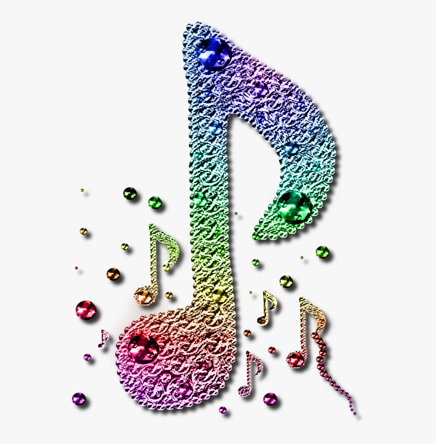 Transparent Colorful Musical Notes Png - Colourful Music Note Png, Png Download, Free Download