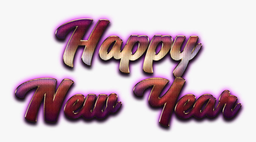 Happy New Year Letter Png Hd - Happy New Year Letter Png File, Transparent Png, Free Download