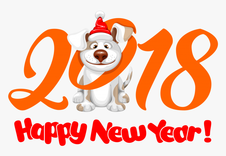 2018 Happy New Year Png Image - Transparent Happy New Year Png, Png Download, Free Download