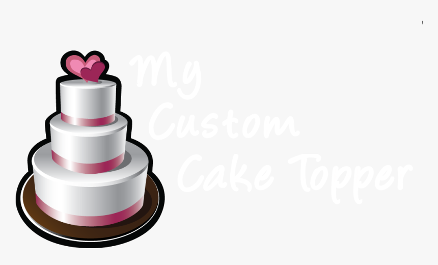 My Custom Cake Topper Clipart , Png Download - Wedding Cake Topper, Transparent Png, Free Download