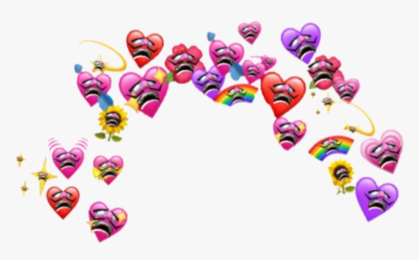 Waluigi Wholesome Meme Nintendo Mario Emoji Heart Emoji - Heart Emoji Meme Png, Transparent Png, Free Download