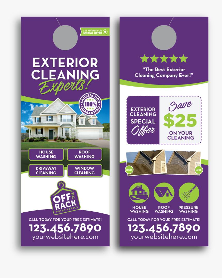 Door Hanger Carpet Cleaning Template, HD Png Download, Free Download