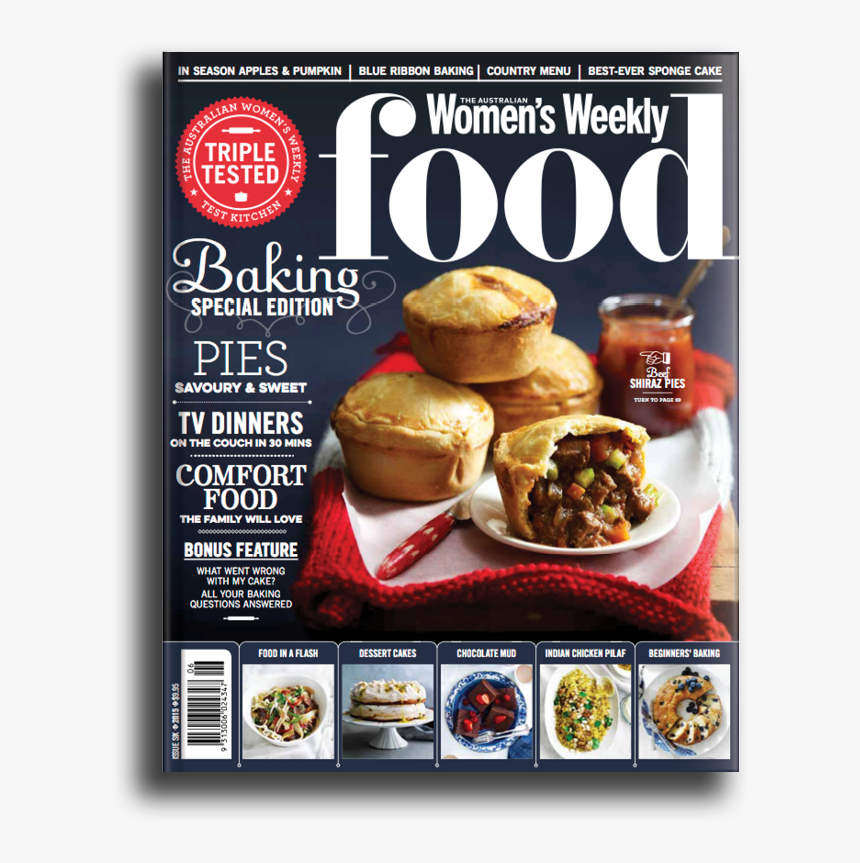 June Big Baking Issue - Food Magazine Cover Design, HD Png Download, Free Download