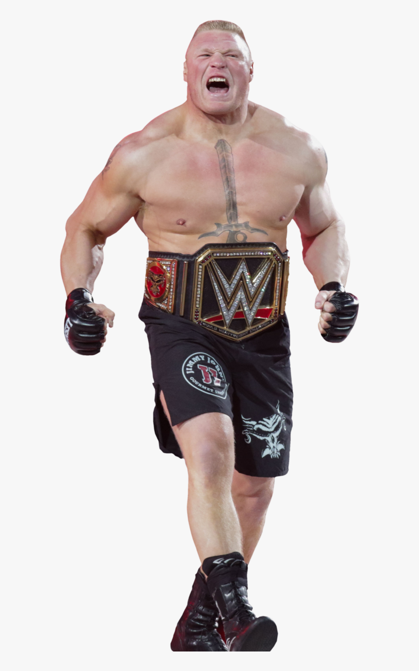 Brock Lesnar Clipart Wrestling Clipart - Brock Lesnar Wwe Heavyweight Champion, HD Png Download, Free Download