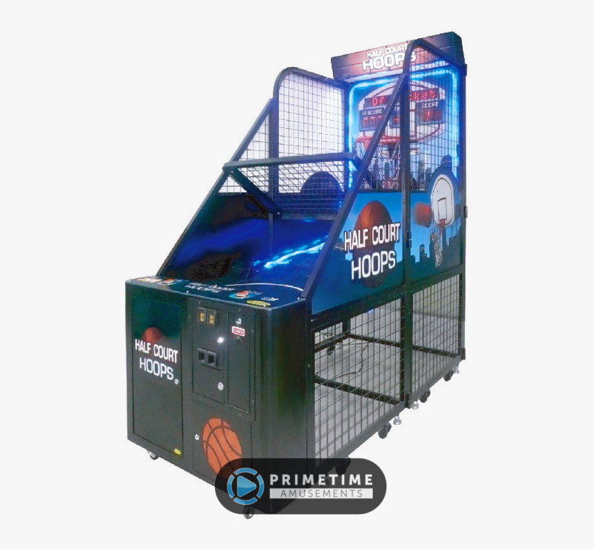 Half Court Hoops By Family Fun Companies - Half Court Hoops Arcade, HD Png Download, Free Download