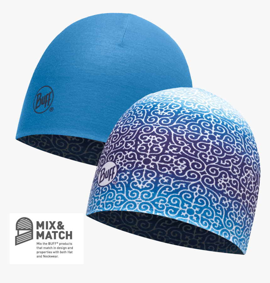 Reversible Dharma Blue/french Blue [coolmax Hat] - Buff Coolmax Reversible Hat Blue, HD Png Download, Free Download