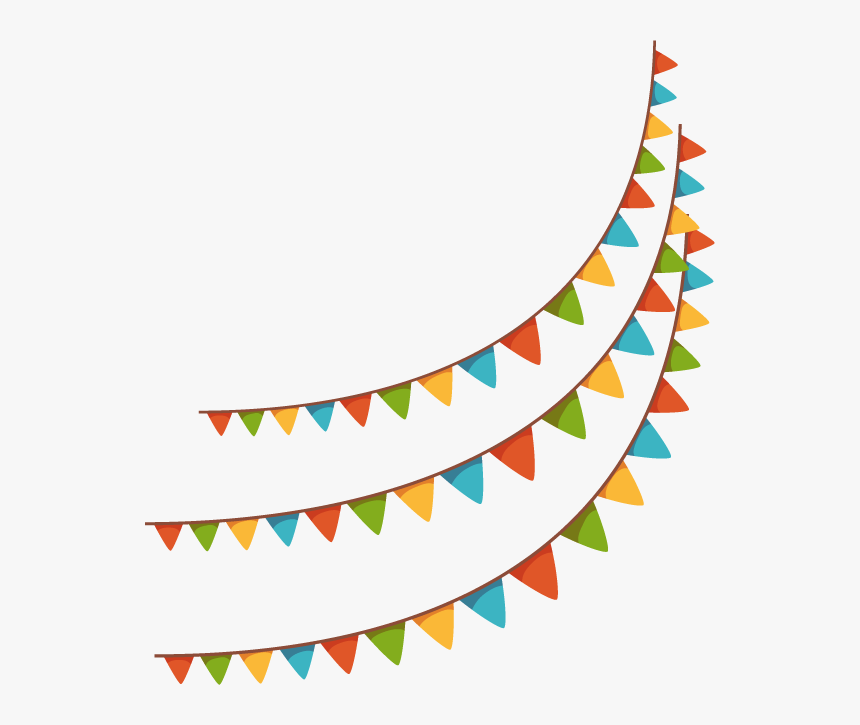 Brazil Illustration Vector Flags Hanging Banners Holiday - Color Flag Png, Transparent Png, Free Download
