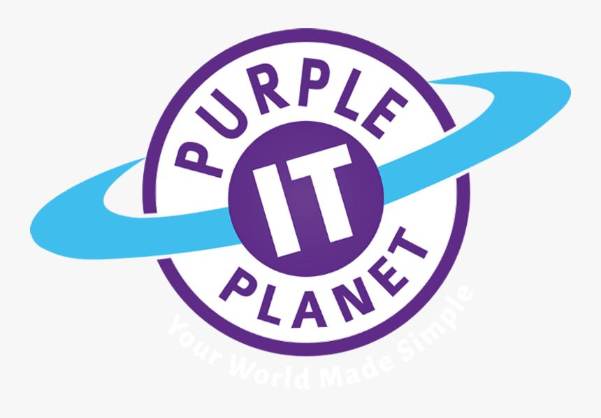 Purple Planet It Logo - Purple Planet Logo, HD Png Download, Free Download