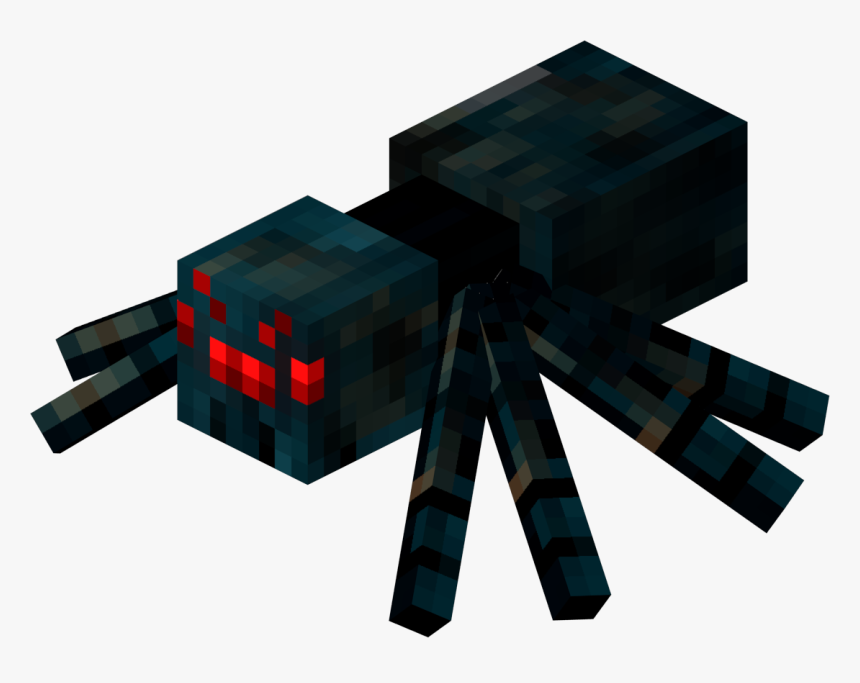Cave Spider Minecraft, HD Png Download, Free Download
