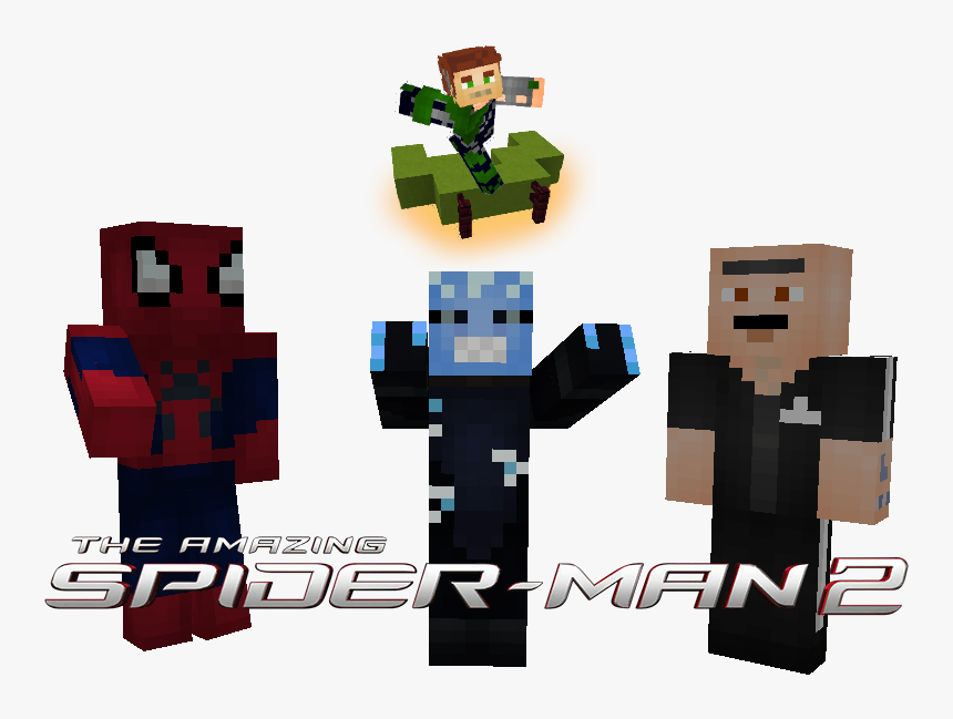 Amazing Spider Man 2 Skin Minecraft, HD Png Download, Free Download