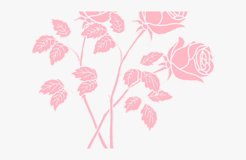 Pink Rose Clipart Png Tumblr - Free To Use Lofi, Transparent Png, Free Download