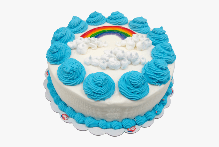 Online Dairy Queen Cake To Philippines - Dairy Queen Ice Cream Cake Blue, HD Png Download, Free Download