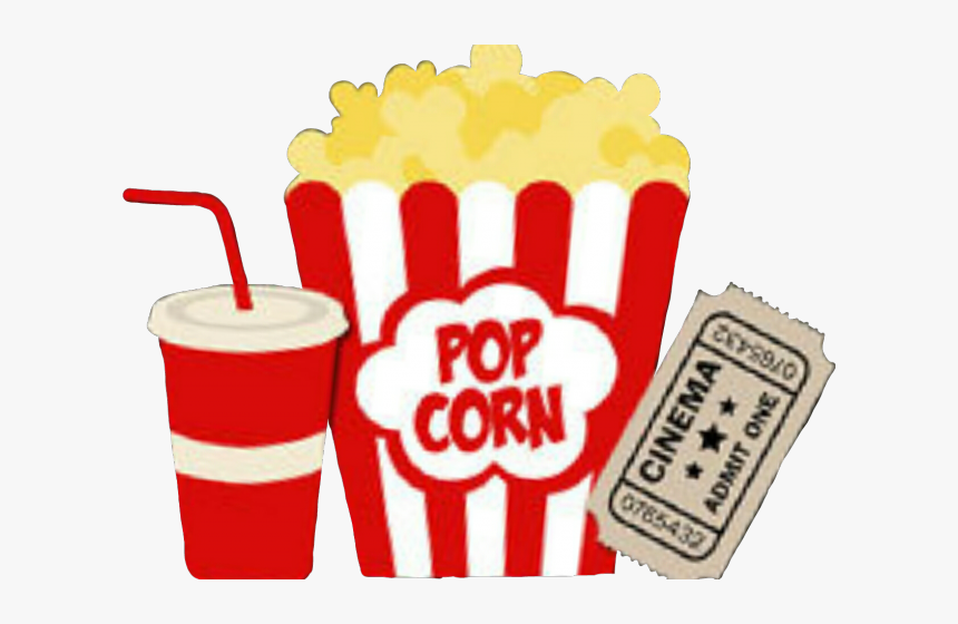 Soda Clipart Movie Popcorn Hd Png Download Kindpng
