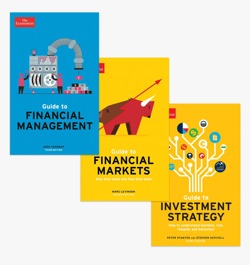 Financial Strategy Book Bundle - Economist Risk Management, HD Png Download, Free Download