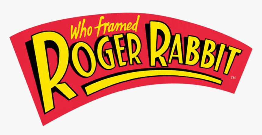 Who Framed Roger Rabbit Logo - Framed Roger Rabbit, HD Png Download, Free Download
