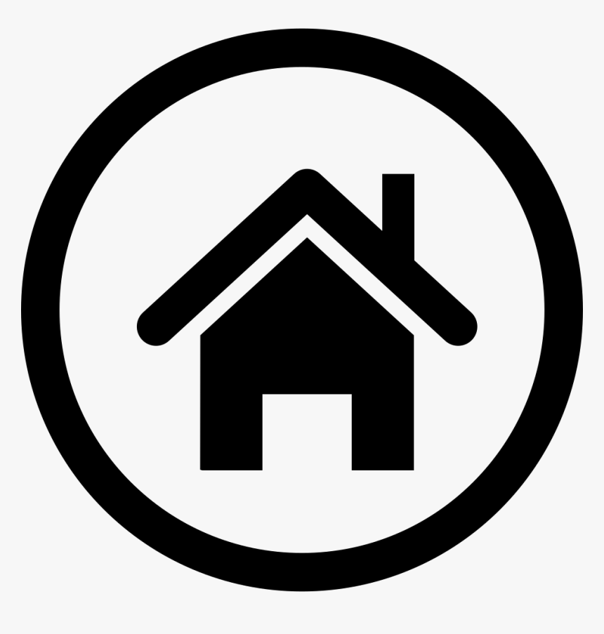 Homepage Icon Png Png Download Transparent Black Home Icon Png Download Kindpng