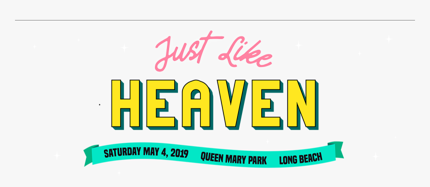 Just Like Heaven Festival Logo, HD Png Download, Free Download