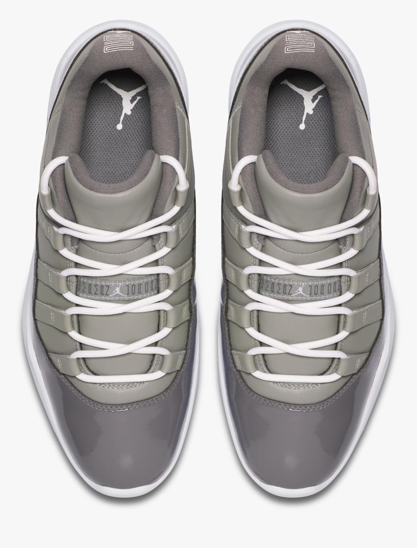 Air Jordan Grey - Nike Jordan 11 Golf Cool Grey, HD Png Download, Free Download