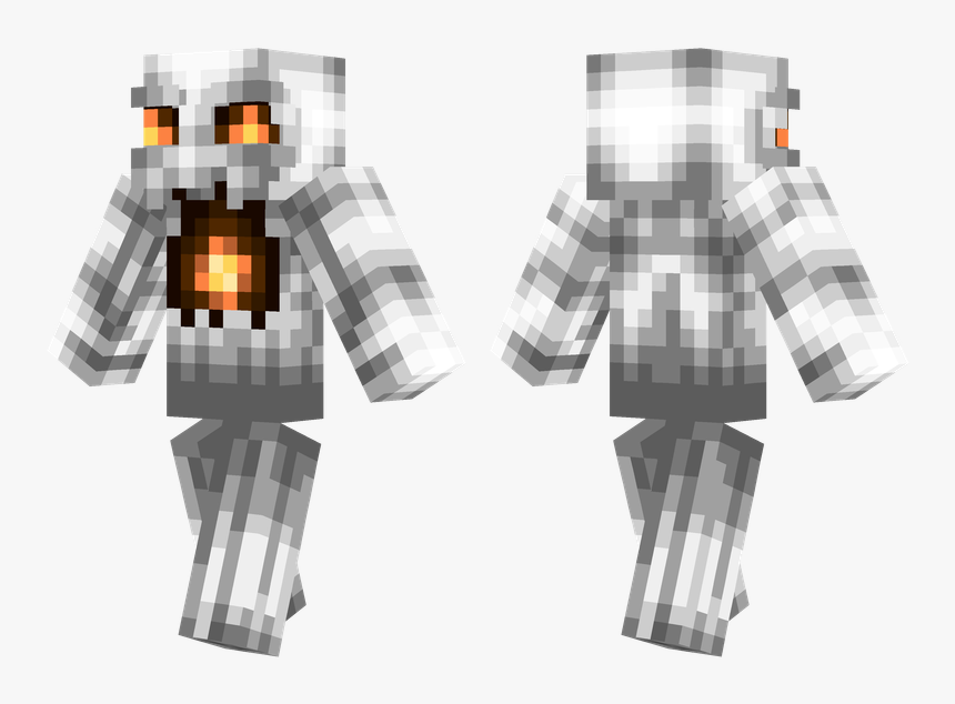 Skin De Fatasma Minecraft, HD Png Download, Free Download