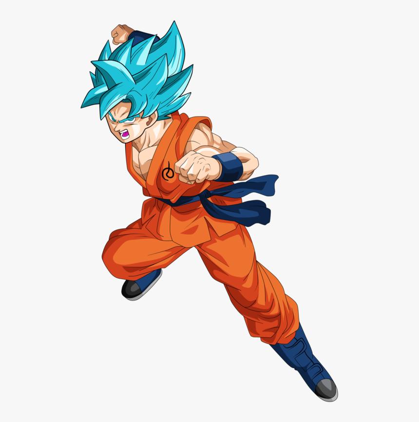 Thumb Image - Super Saiyan Goku Dragon Ball Super, HD Png Download, Free Download